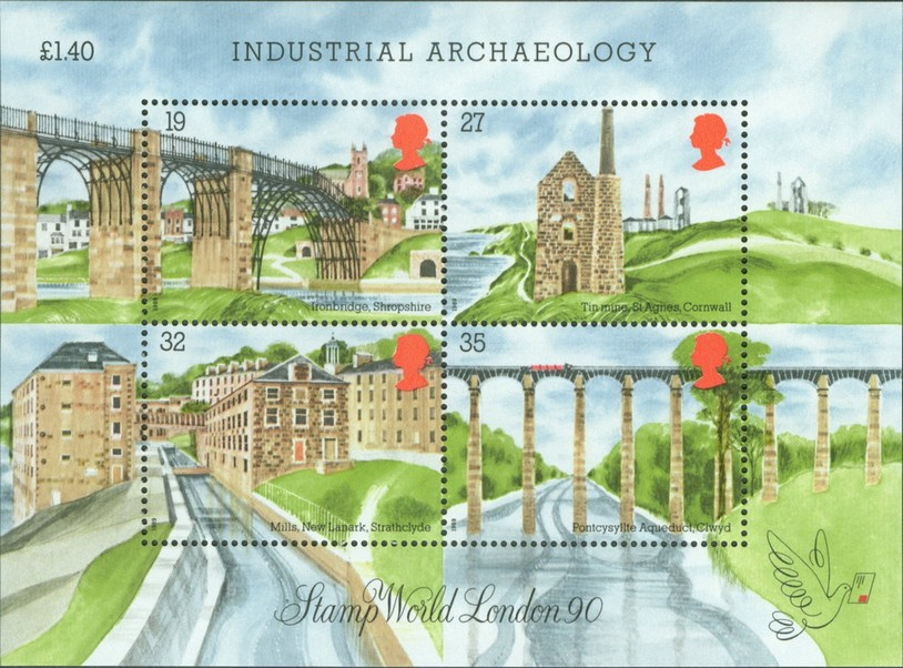 Special Stamps entitled 'Industrial Archaeology'