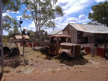 The ghost town of Leonora. © Colin Jenkins