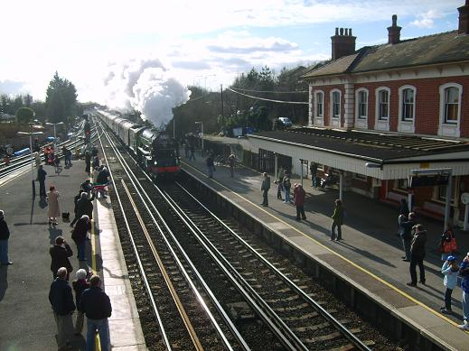 Tornado at St Denys station. © Peter Hall, 14 February 2009