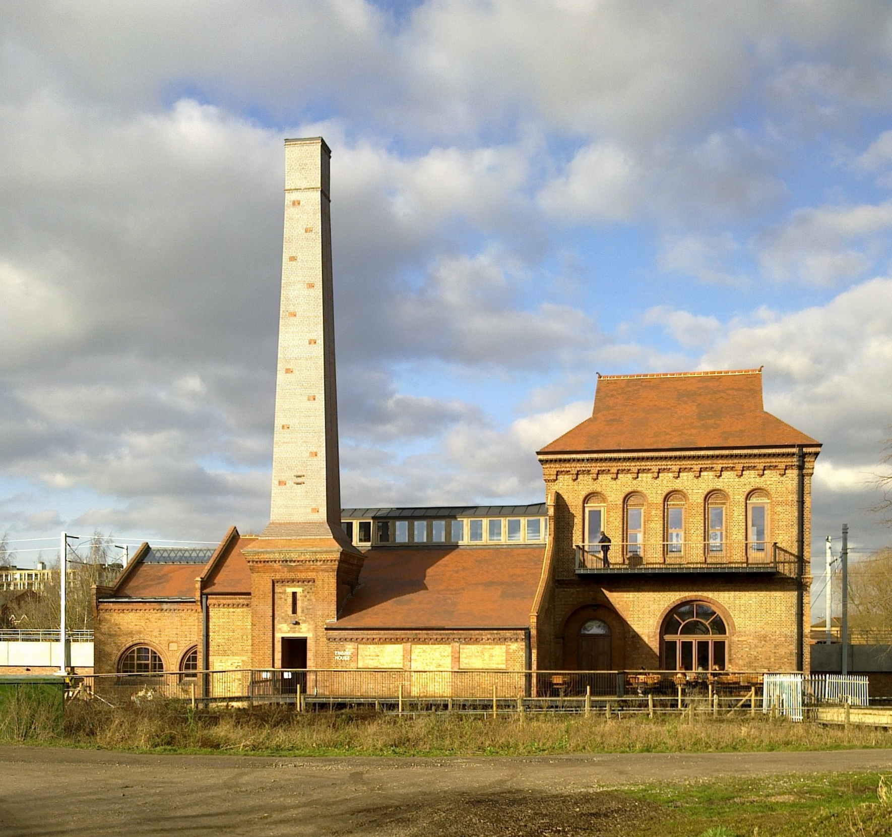 Ferry Lane Pumping Station, 30 Jan 2018 © R Carr
