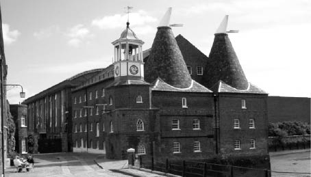 The Clock Mill and Three Mills Distillery