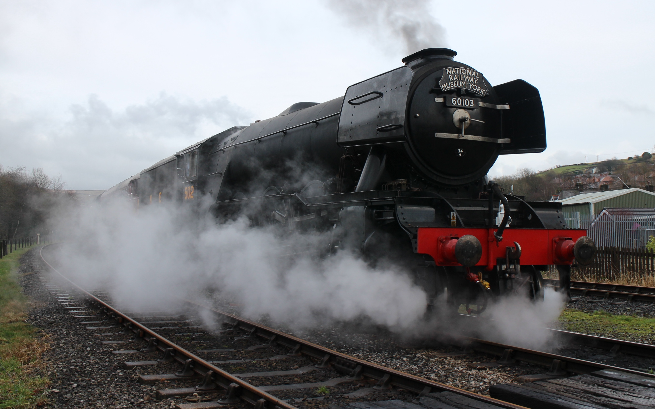 Flying Scotsman at Rawtenstall � Robert Mason 9.1.16 � Robert Mason 2016