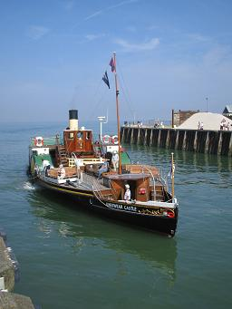 Kingswear Castle, Whitstable, 31 July 2004. © Robert Mason